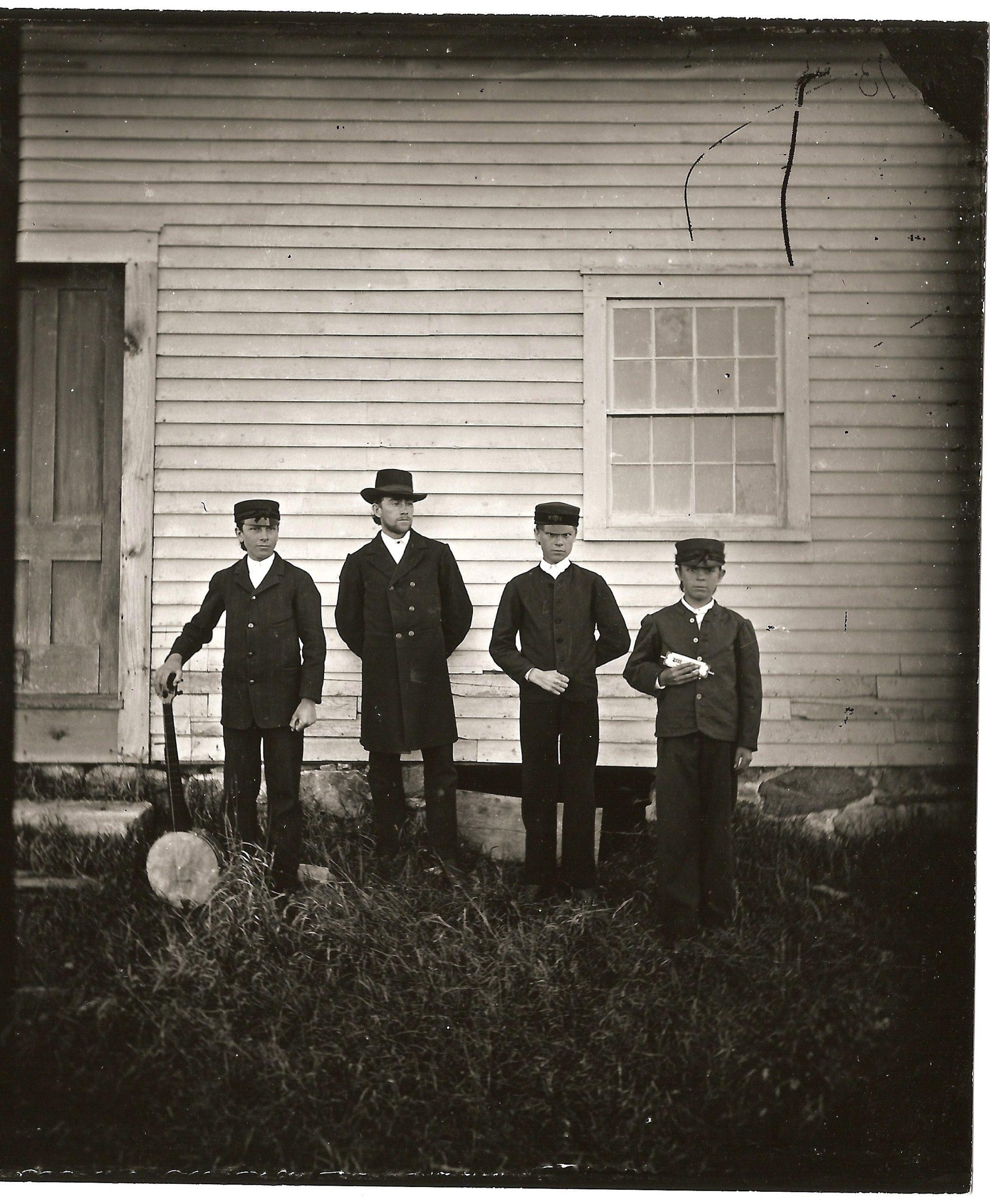 Enfield Shaker Boys at South Family