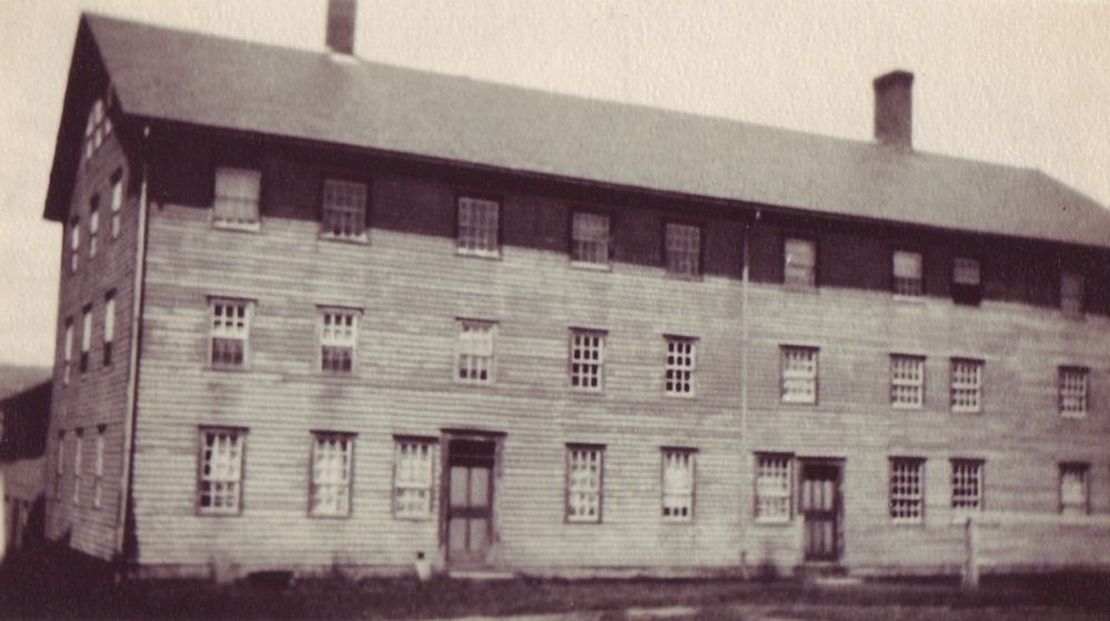 Historic photo of the Laundry building. (1813/1833) Enfield Shaker preservation