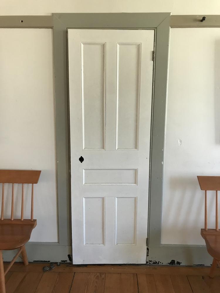 Enfield Shaker preservation Meeting Room cupboard door projecdt