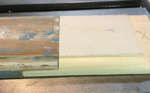 Enfield Shaker preservation dining room door trim