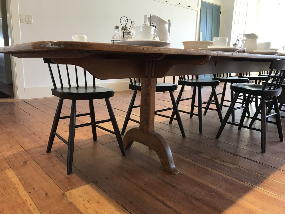 Dining Room table leg and trestle