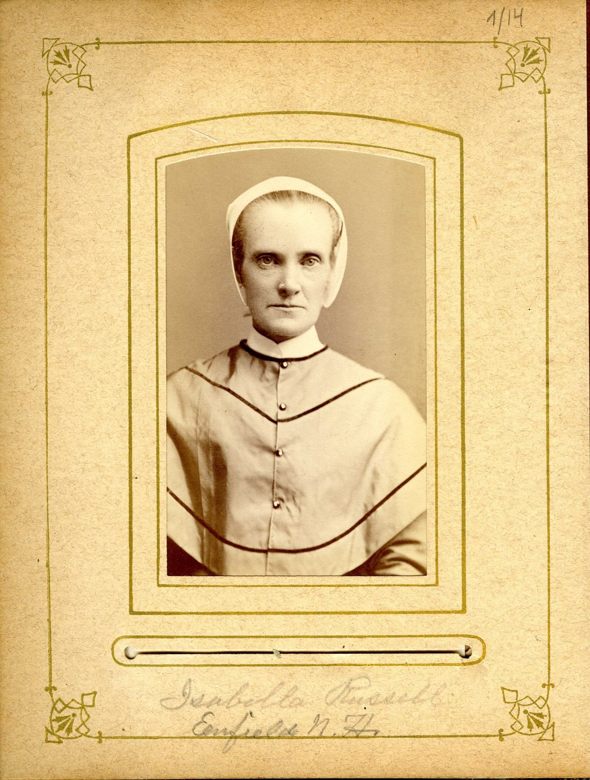 Sister Isabella M. Russell, Enfield, NH
