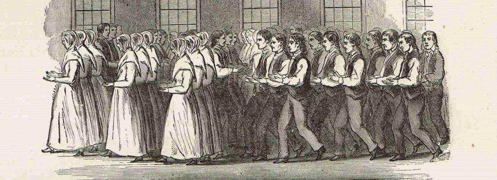Shakers' Dance Print