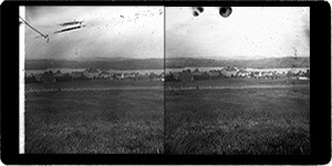Stereoview of Enfield, NH Shaker Village - Church Family and Mascoma Lake in the Distance.