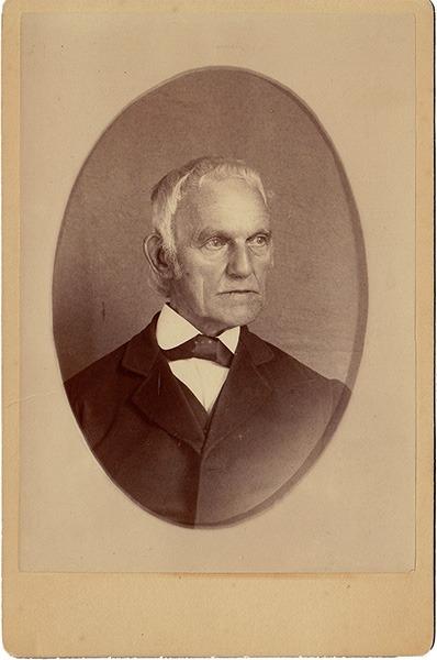 Abraham Perkins Carte de Visite