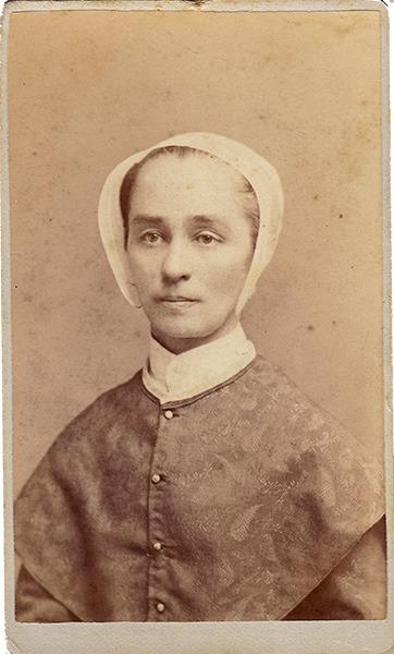 Annie Ellis Carte de Visite