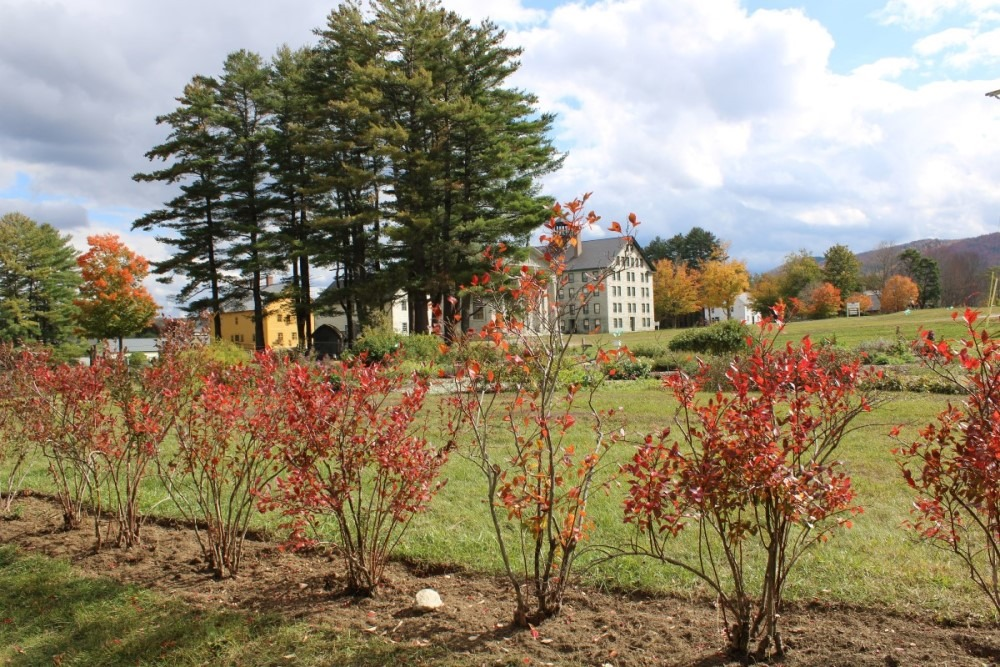 Enfield Shaker Museum Fall Foliage 2020