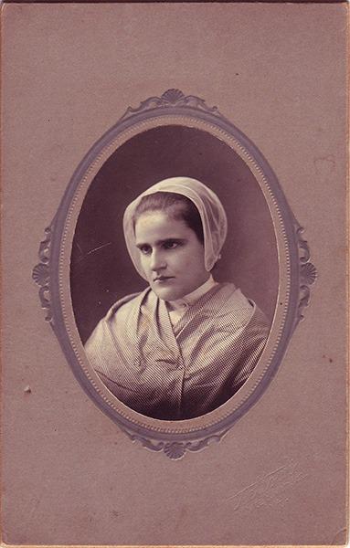 Ethel Morse Carte de Visite