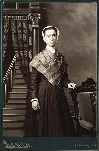 Fannie Fallon Cabinet Card