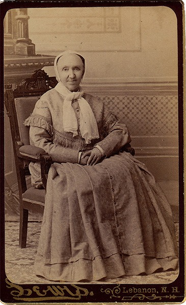 Irena George Carte de Visite