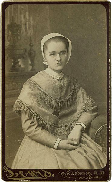 Mary Ellen Elkins Carte de Visite