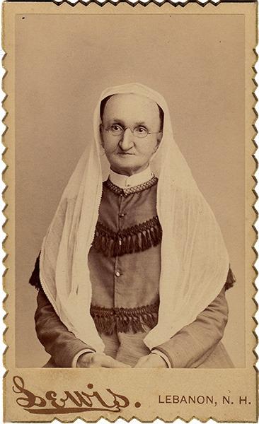Susan Bartholomew Carte de Visite