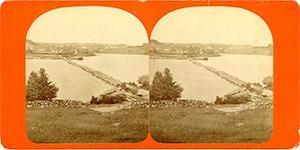 Shaker Bridge on Mascoma Lake, Enfield, NH.