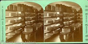 Stereoview of Canterbury, NH Shaker Village - Cheese Room