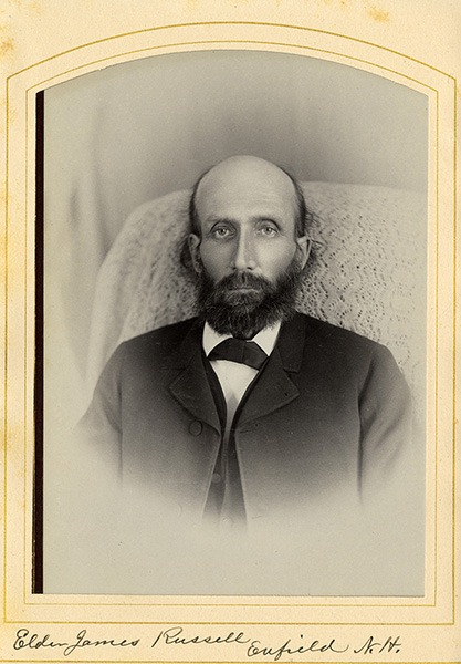 James Russell CDV
