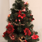 Festival of Trees 2020: Poinsettias Tree