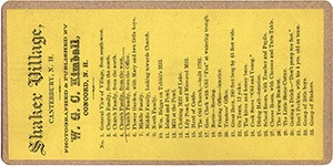List of Stereoviews in this W. G. C. Kimball Series