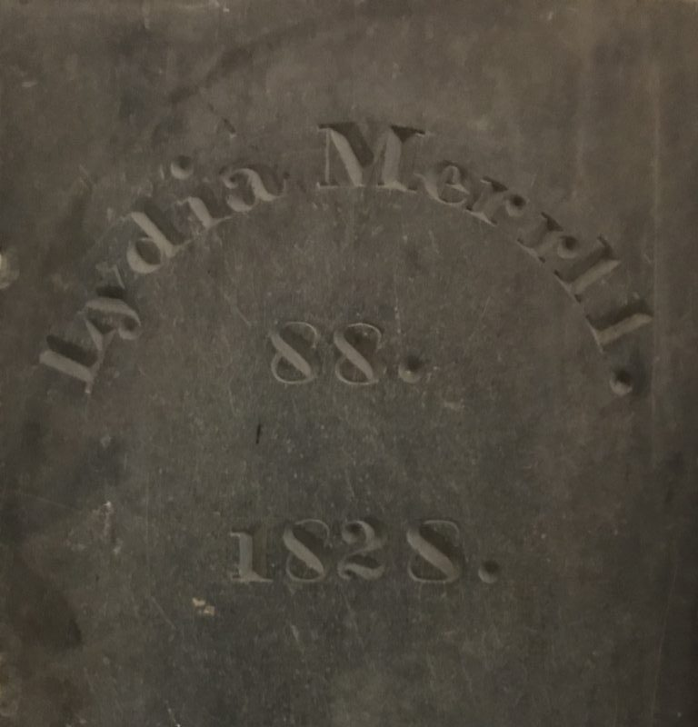 Carving on a Church Family grave stone