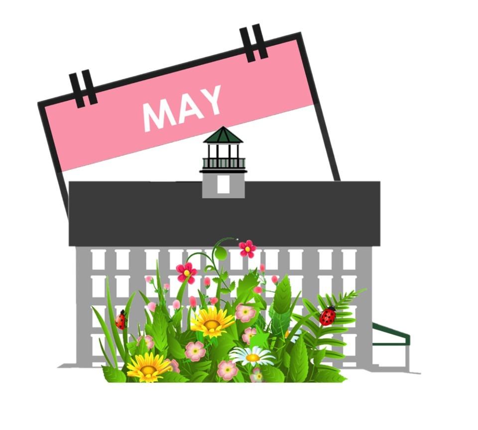 May Calendar Raffle Logo