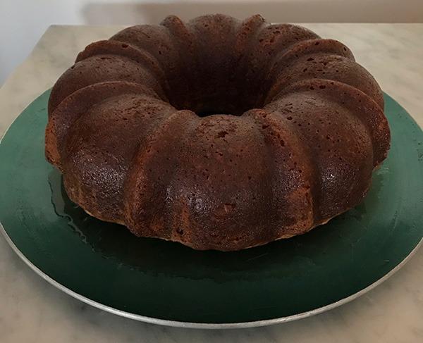 Enfield Shaker Nut Cake