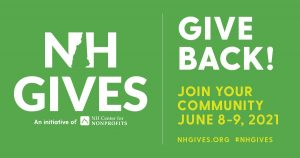 NH Gives: Give Back! Join Your Community June 8-9, 2021