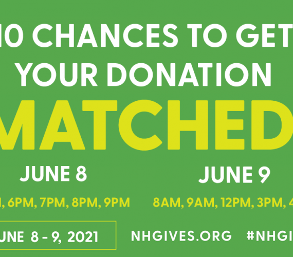 Announcing: NH Gives Match Opportunities